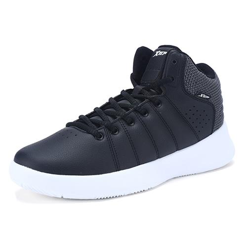 特步983419121075潮流高帮篮球鞋