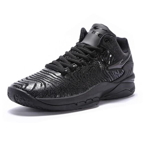 鸿星尔克11118204215新款高帮篮球鞋