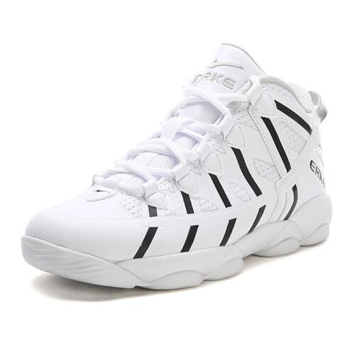 鸿星尔克52117404071女子中帮篮球鞋