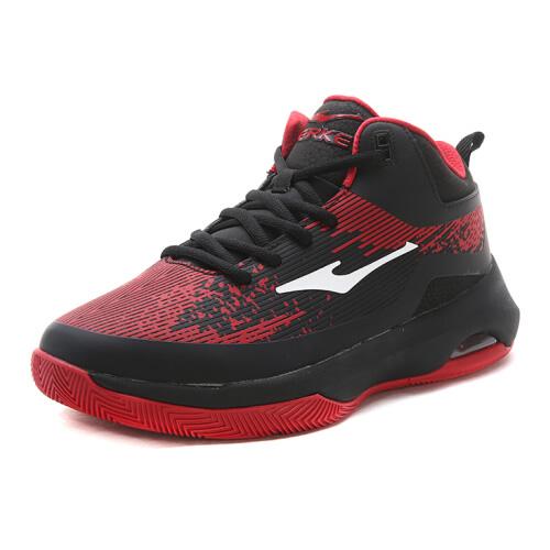 鸿星尔克11117404177新款气垫篮球鞋