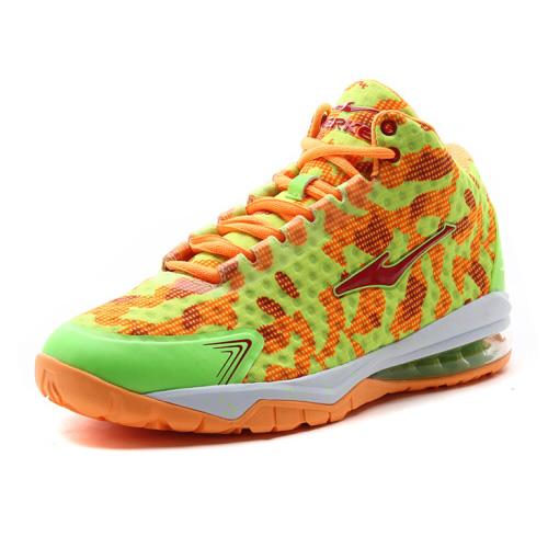 鸿星尔克51116204040新款迷彩篮球鞋