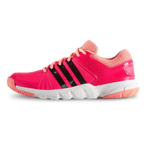 阿迪达斯AF4898 Quickforce 5.1女子羽毛球鞋