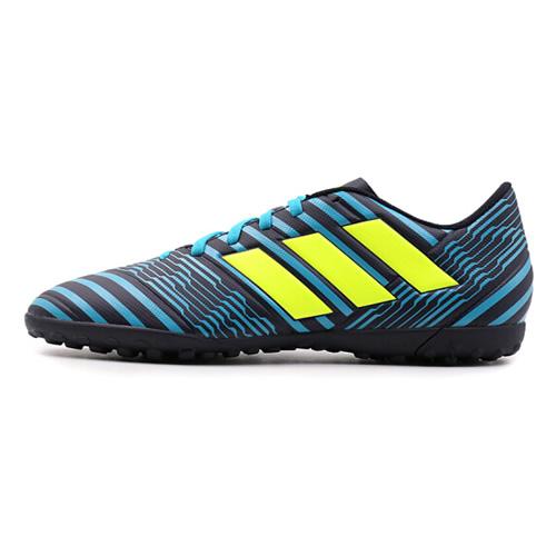 阿迪达斯S82477 NEMEZIZ 17.4 TF男子低帮足球鞋图1高清图片