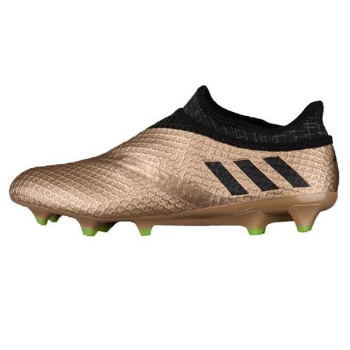 阿迪达斯BA9821 Messi 16+ Pureagility FG男子足球鞋