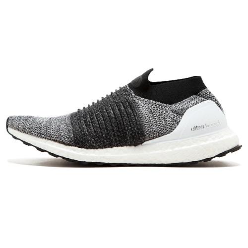 阿迪达斯BB6141 UltraBOOST LACELESS男女跑步鞋