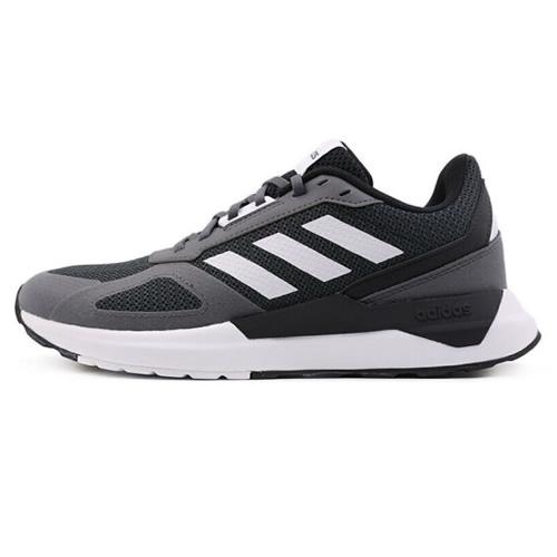 阿迪达斯BB7435 RUN80S男女跑步鞋