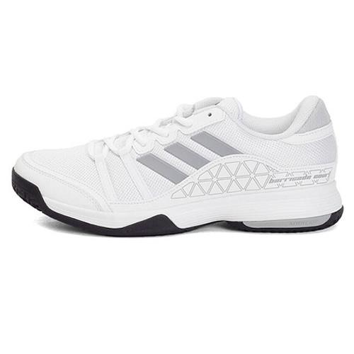 阿迪达斯BB3325 barricade court男女网球鞋