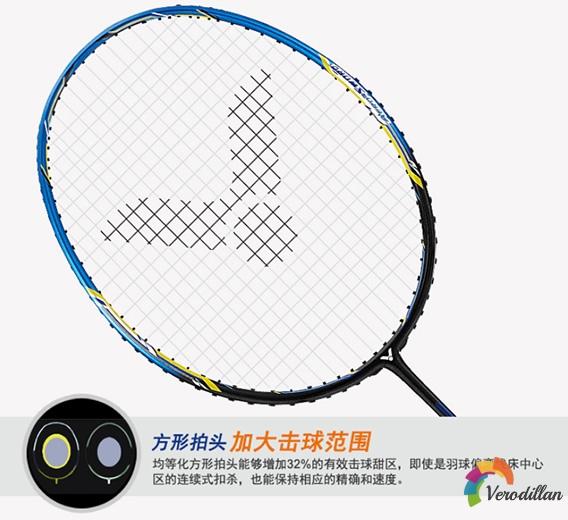 [图文]胜利JS-1羽毛球拍细节深度解析