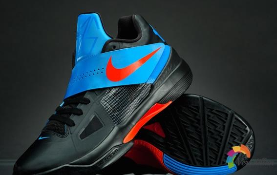 [图文]耐克KD 4篮球鞋实战测评