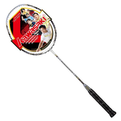 川崎超磅666羽毛球拍