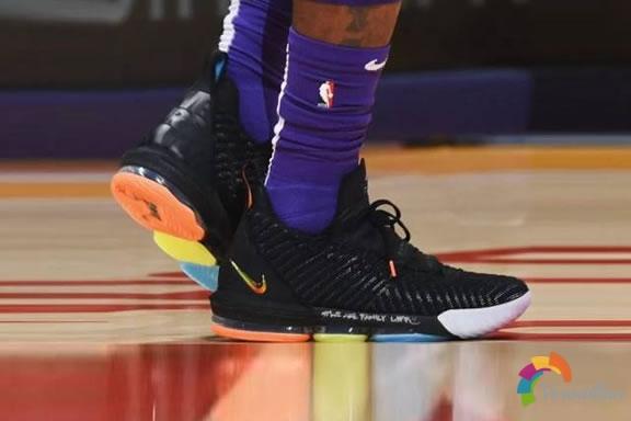 詹姆斯的承诺-Nike LeBron 16慈善版简析