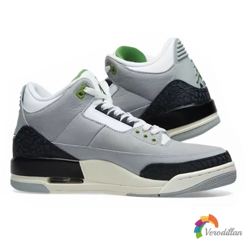 Air Jordan 3 Chlorophyll细节简析