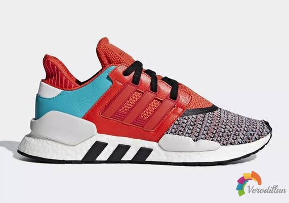 Adidas EQT Support 91/18 Multicolor细节简析