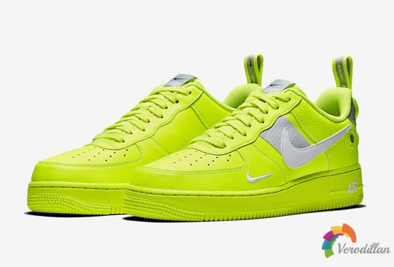 个性十足-Nike Air Force 1 Utility简析