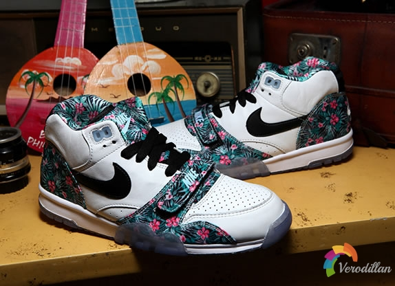 情定NFL-Nike Air Tariner 1 Mid Pro Bowl细节简析