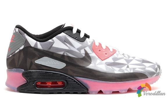 无形变有形-Nike Air Max 90 ICE细节简析