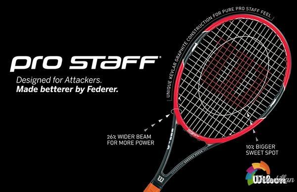 Wilson Pro Staff 6.6 Series网球拍的故事
