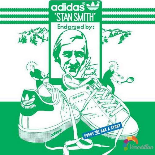 Stan Smith传奇-Adidas鞋舌上的LogoMan