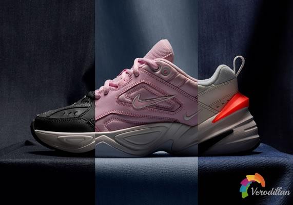 女生专属-Nike M2K Tekno复古设计,摩登演绎