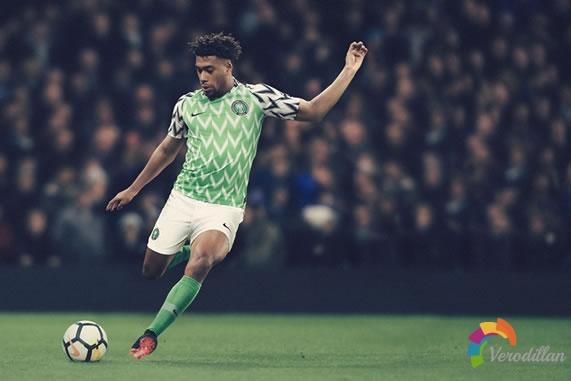 耐克尼日利亚队全新主客场球衣设计解读
