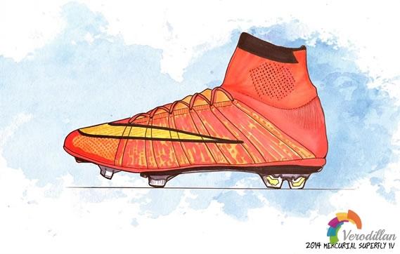 疾速演变-耐克刺客系列足球鞋进化史