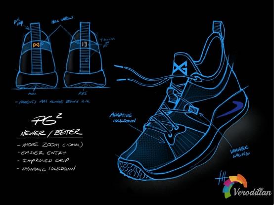保罗乔治第二代签名鞋-Nike PG2设计五大原则