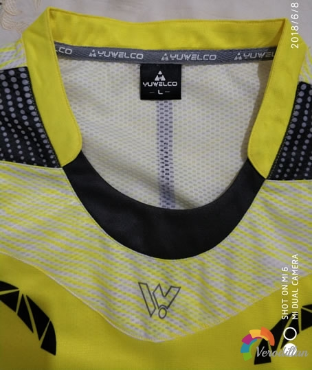羽威尔酷YW05-06羽毛球服试用测评图2