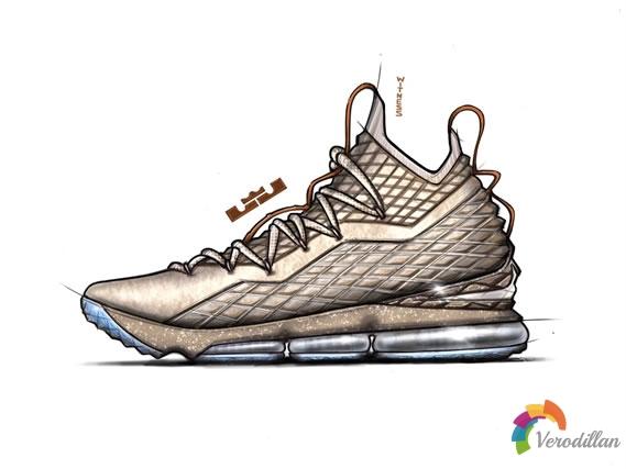 皮特里与Nike LEBRON 15的设计哲学