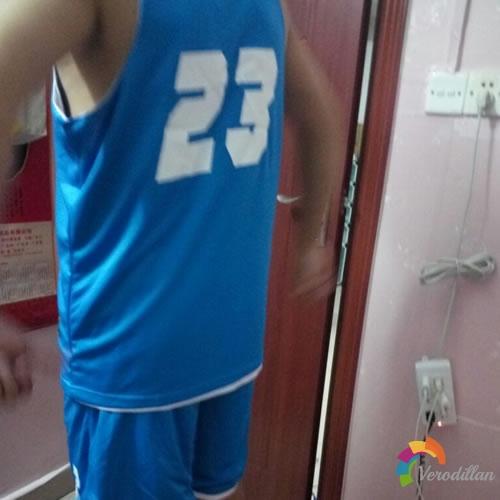 篮人MAN2016B015篮球服套装试用测评图3
