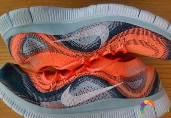 轻薄时尚-Nike Free Flyknit跑鞋试穿测评