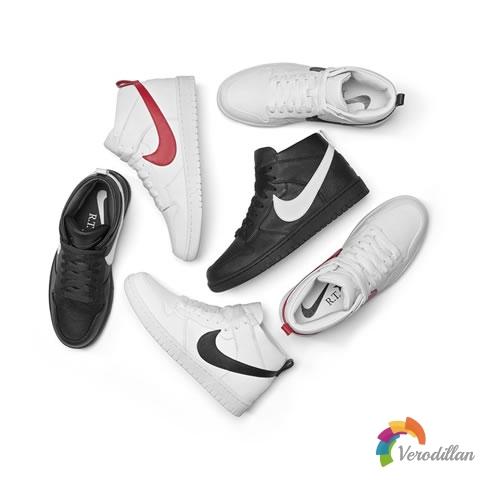 NikeLab Dunk Lux Chukka x RT设计细节简评