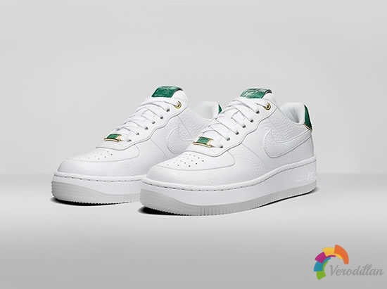 Nike Air Force 1 Ultra Low NAI KE JADE设计细节简评