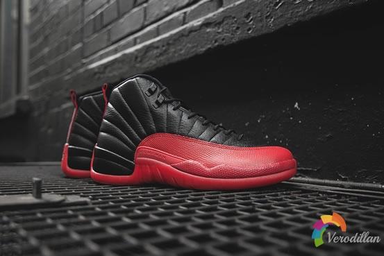 神之战靴-Air Jordan 12 Black/Red细节剖析