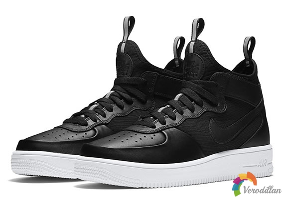 Nike Air Force 1 UltraForce Mid设计简析