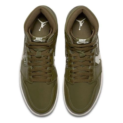 AIR JORDAN 555088 AJ1男子篮球鞋图3高清图片