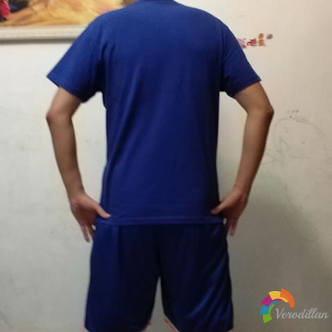 篮人MAN2017SJT025篮球服三件套试用测评