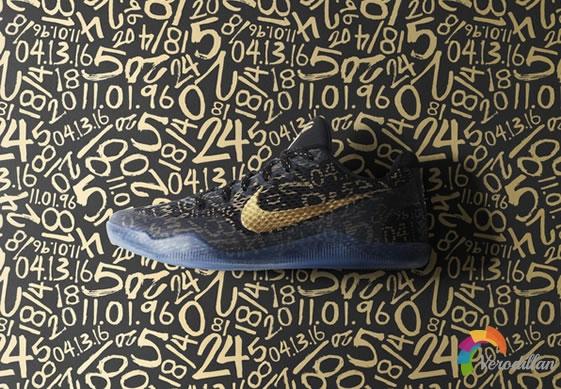 致敬科比-Nike Kobe 11 Elite(黑金版)细节解读