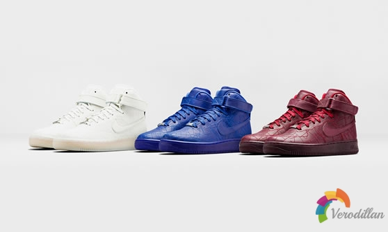 Nike Air Force 1女款City Collection系列发布简评