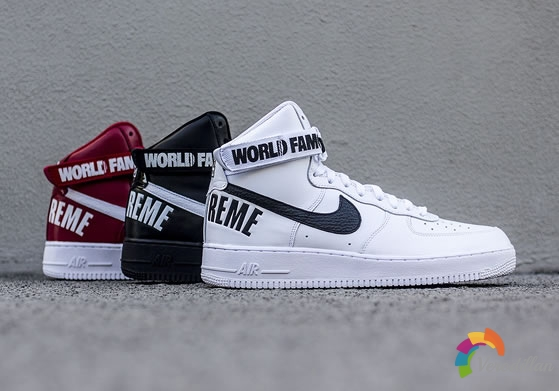 Supreme x Nike Air Force 1 High全系列简评