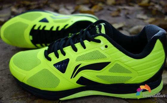 李宁双渡跑鞋外观细节深度剖析