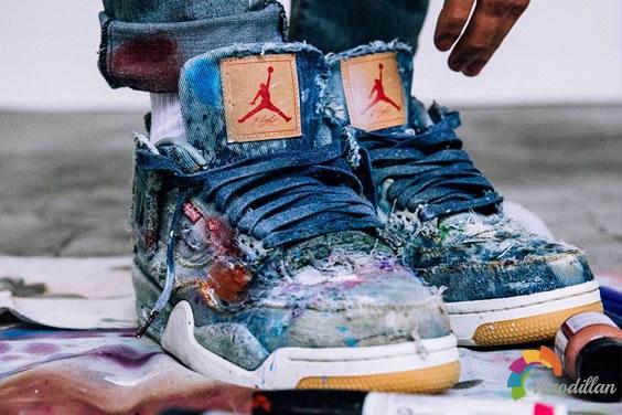 期待在酒吧当个牛仔:Levis x Air Jordan 4初印象