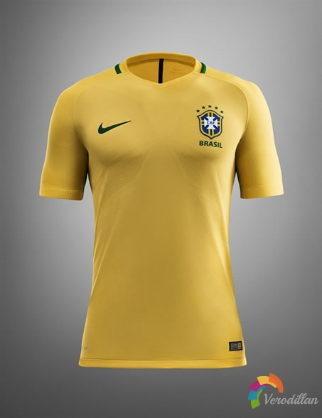 Nike 2016年巴西国家队主客场球衣设计解读