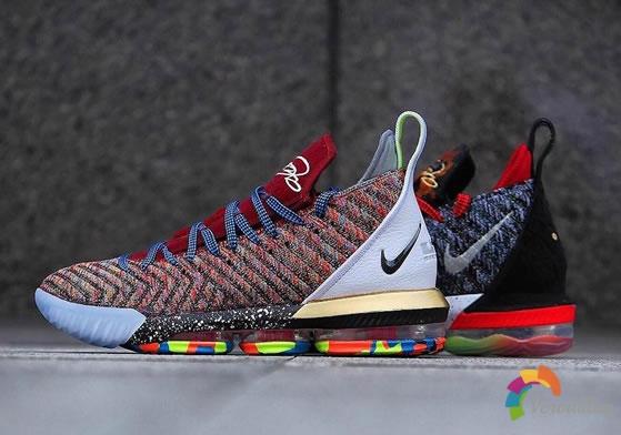 动感凌厉:Nike LeBron 16 What The细节简评
