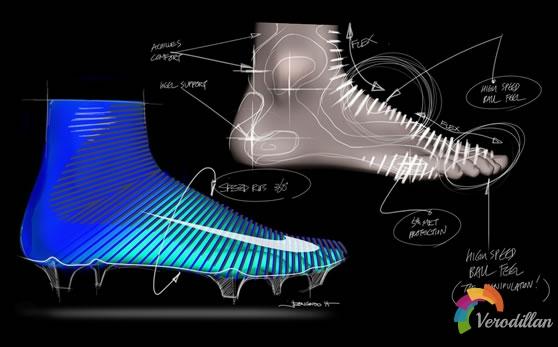 出色制动功能:耐克Mercurial Superfly足球鞋设计详解图2