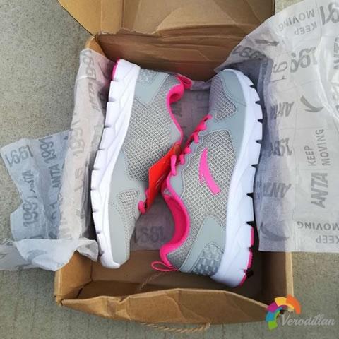 安踏92625507女子网面跑步鞋试用测评