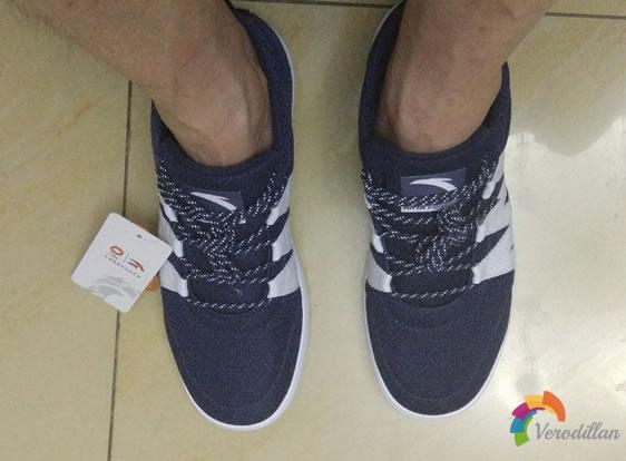 安踏91528014男子时尚板鞋试用测评图3