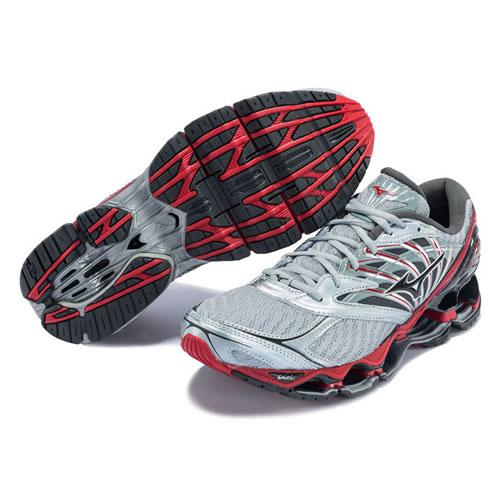 美津浓J1GC190053 WAVE PROPHECY 8男子跑步鞋图4高清图片