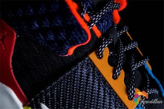 质感拼接:Air Jordan威少二代细节深度解读图2