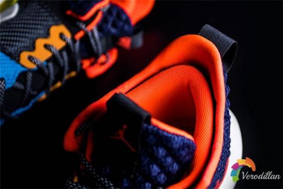 质感拼接:Air Jordan威少二代细节深度解读图3