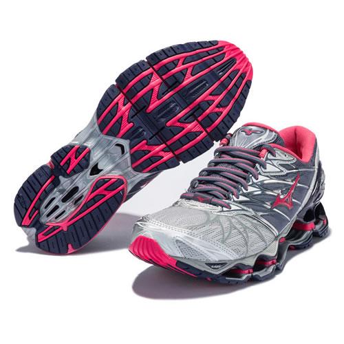 美津浓J1GD180064 WAVE PROPHECY 7女子跑步鞋图4高清图片